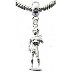 Silver Charm Bead Sculpture Compatible for  Pandora All Types Bracelet