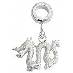 Silver Charm Bead Dragon Compatible for  Pandora All Types Bracelet