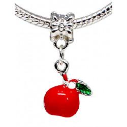 Charm Apple - Fits All Pandora Bracelets