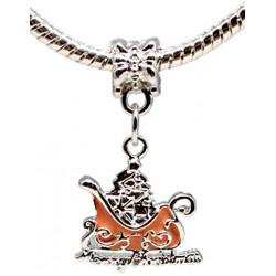 Charm Xmas Santa Claus - Fits All Pandora Bracelets