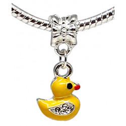 Charm Yellow Duck - Fits All Pandora Bracelets