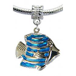 Silver Fish Charm for Pandora Bracelet