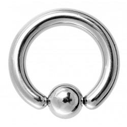 Surgical Steel 316L Big Size BCR Ring