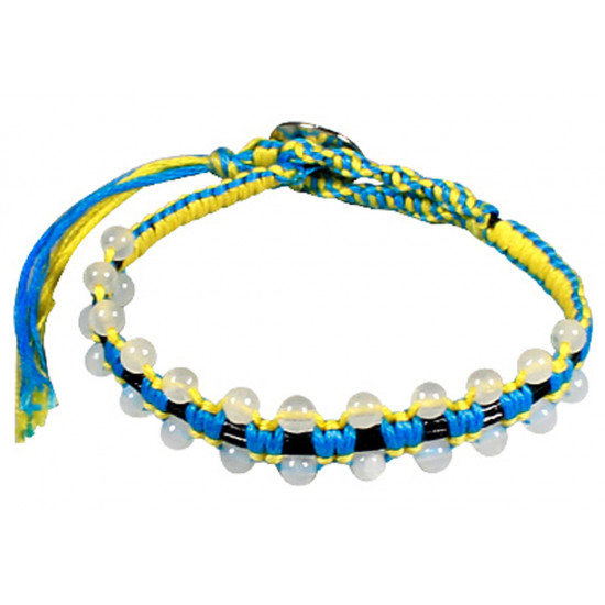 Colourful Handmade Fashion Strap Bracelets with Beads - Various Colours