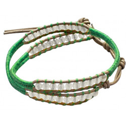 Colourful Handmade Beaded Fashion Bracelet - Various Colours