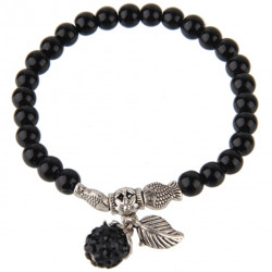 Stretchable Fashion Beaded Bracelet - Classic Style - Various Colours