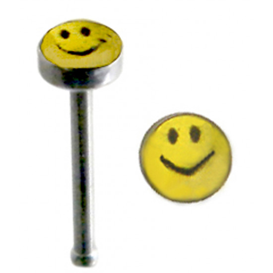 Surgical Steel Straight Nose Pins with Picture - Various Logos - Quality tested by Sheffield Assay Office England