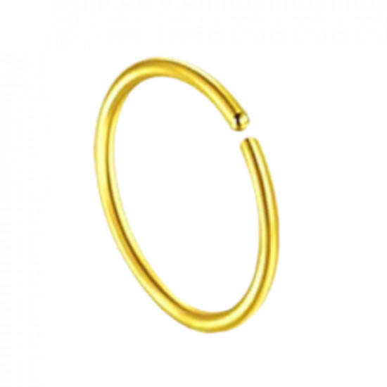 Surgical Steel 316L Open End Ring - Quality tested by Sheffield Assay Office England