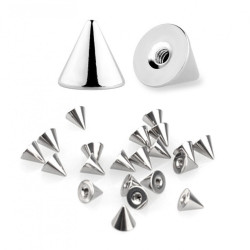 Surgical Steel 316L Cones / Spike (10pcs)