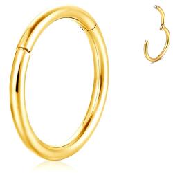 Hinge Segment Ring - Gold